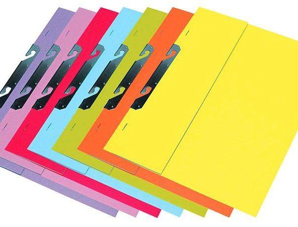 Rychlovazač RZP fialová Rychlovazač závěsný půlený (přední strana půlená) - vyrobený z barevného kartonu