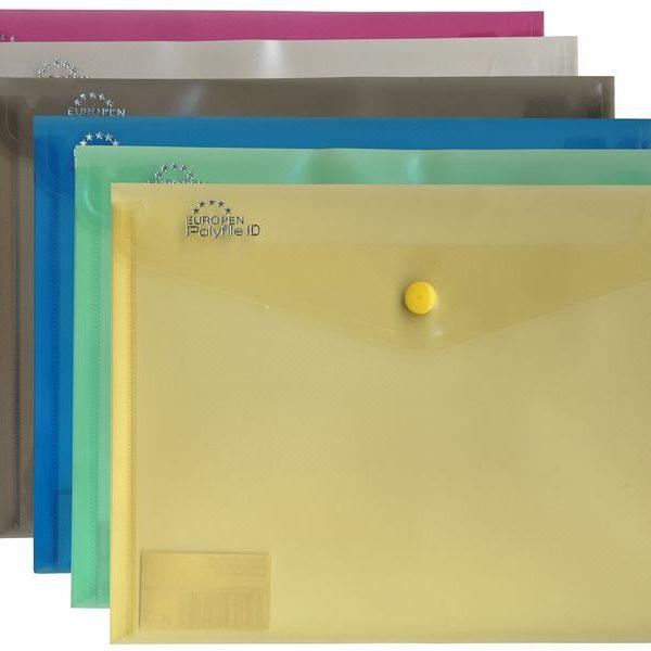 Desky druk A5 modré MODRÁ Desky z průhledného odolného polypropylenu