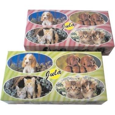 Kapesníčky papírové kosmetické  2 vrstvé 100ks Papírové kapesníčky rodinné! -vytahovací v krabičce -100 % celuloza -bílé -dvouvrstvé 1 krabička obsahuje: 100ks kapesníčků Velké balení: 35 krabiček