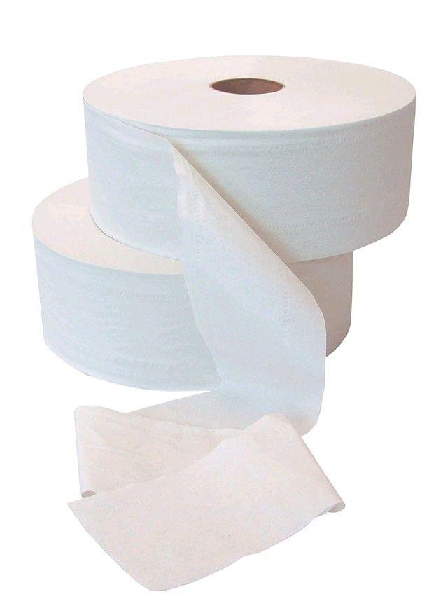 Toaletní papír JUMBO 230-240 JEDNOVRSTVÉ Toaletní papír Jumbo -1 vrstvý Průměr 240mm. 6 rolí v balení.