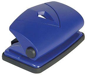Děrovačka CONMETRON 802 modrá 10list. Děrovač s kovovou základnou a plastovou pákou -kapacita děrování 10 listů -vhodná do kanceláří