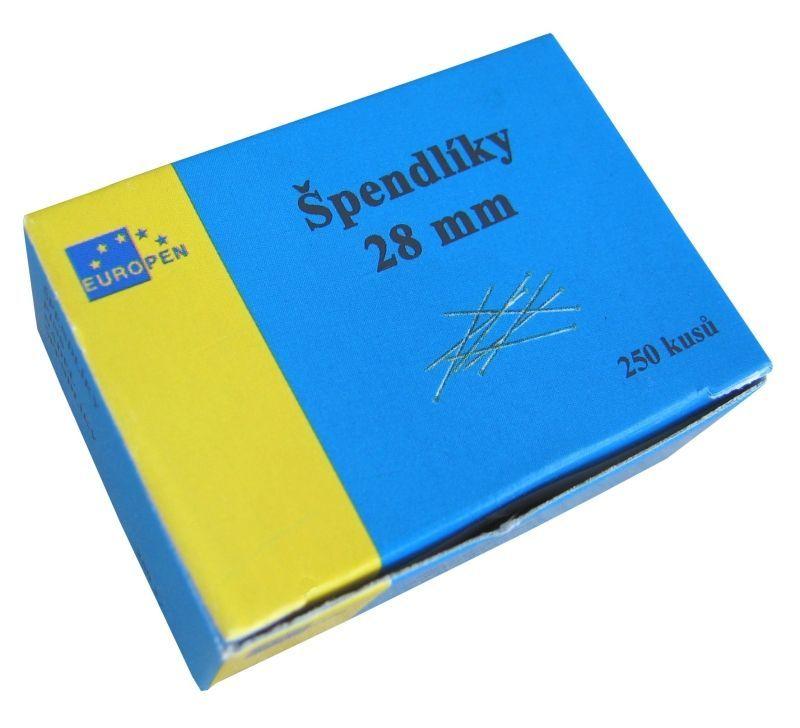 Špendlíky obyčejné Europen/250ks Špendlíky -dekorační