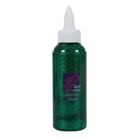 Lepidlo glittrové tm. zelená 120ml Lepidlo se používá jako kontura
