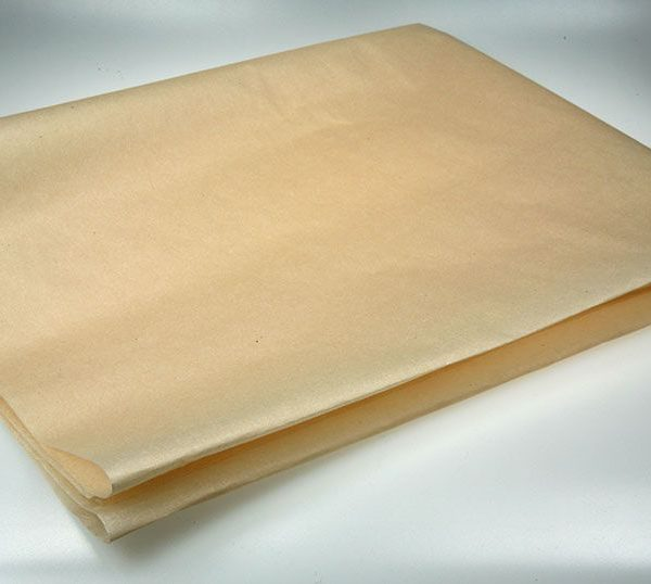 Balicí papír pergamenová náhrada 70x100 cm Nebělený nepromastitelný papír -vhodný pro balení potravin -odolává vodě -bez přídavku chemických činidel