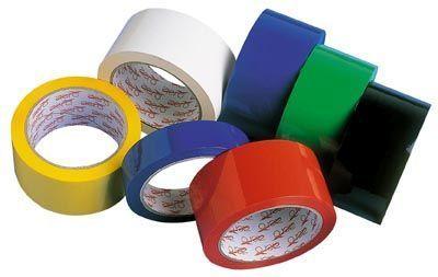 Lepicí páska 48x50 červená Balicí páska pro balení zásilek -vhodná na použití do skladů apod. -síla 28 mikronů Rozměr: 50mm x 66 m