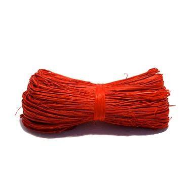 Motouz lýkový červený 25gr Nezbytný doplněk k jakékoli dekoraci. Svazek lýka o 25g