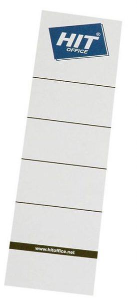 Etikety na pořadač 8cm zasunovací/10ks Papírové samolepicí hřbetní štítky pro přehledné rozlišení pořadačů a v nich založených dokumentů. Pro rozměr: 8 cm Balení obsahuje 10 ks. Zasunovací