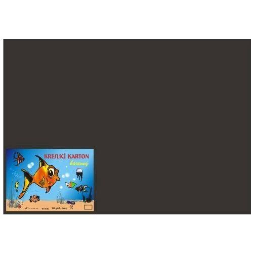 Kreslicí karton A2/180gr/10lis černá Kreslicí karton barevný -Barevný kreslicí karton najde uplatnění nejen ve školách
