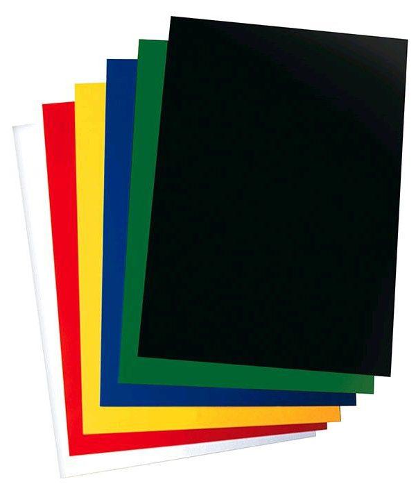 Krou. vazba přední zelená A4/100ks *zelená* Přední strana z průhledného PVC - 200 mikronů Formát: A4 Balení obsahuje: 100ks