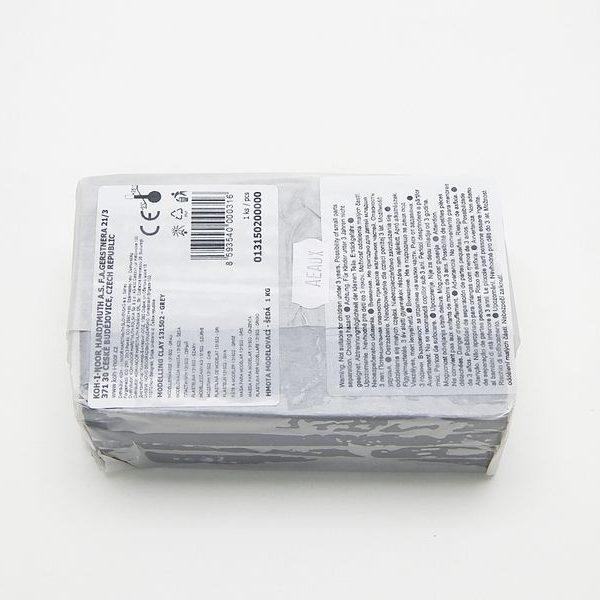 Modelína Koh-i-noor šedá 1kg Modelovací materiál