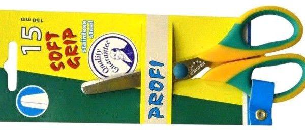 Nůžky Profi 150mm kulaté Nůžky školní -kulatá špička -délka: 15cm