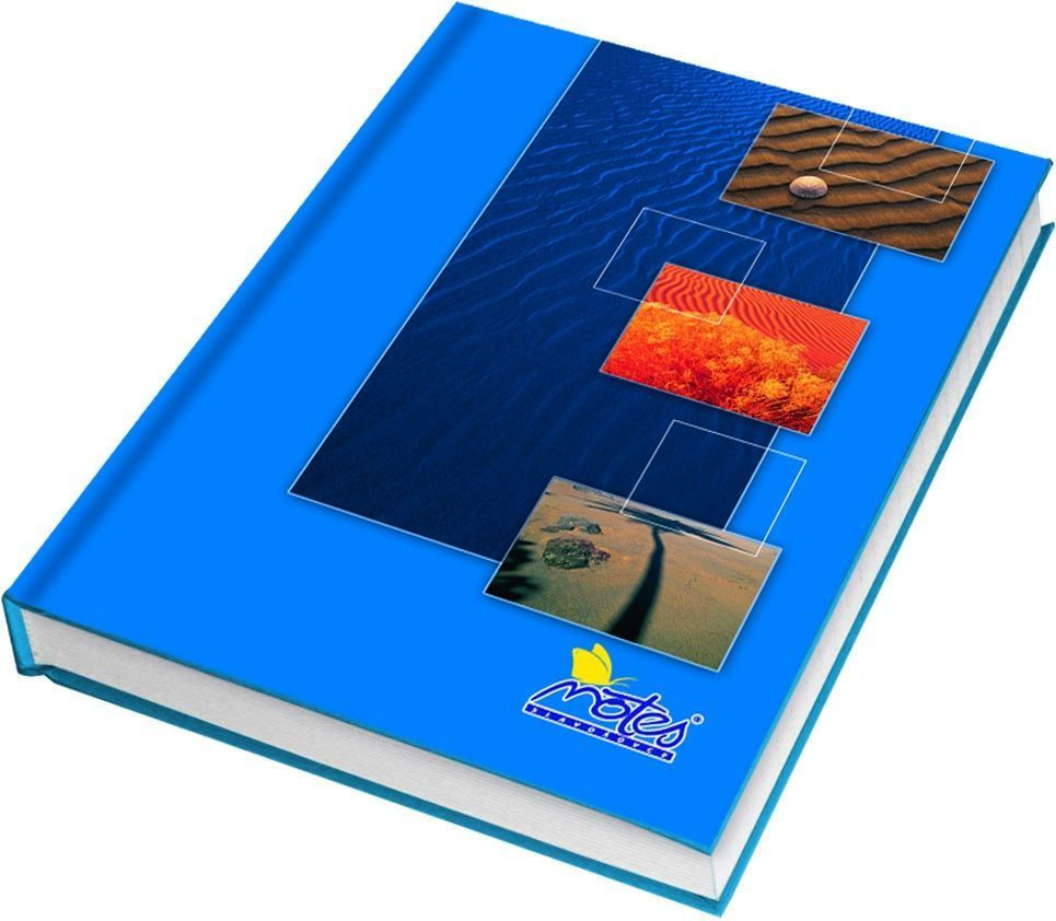 Kniha záznamní A6 linkovaná 100listů Záznamová kniha