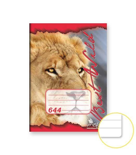 Sešit školní 644 bezdřevý NOTES LINKA Sešit školní 644 bezdřevý Formát: A6/ 40listů