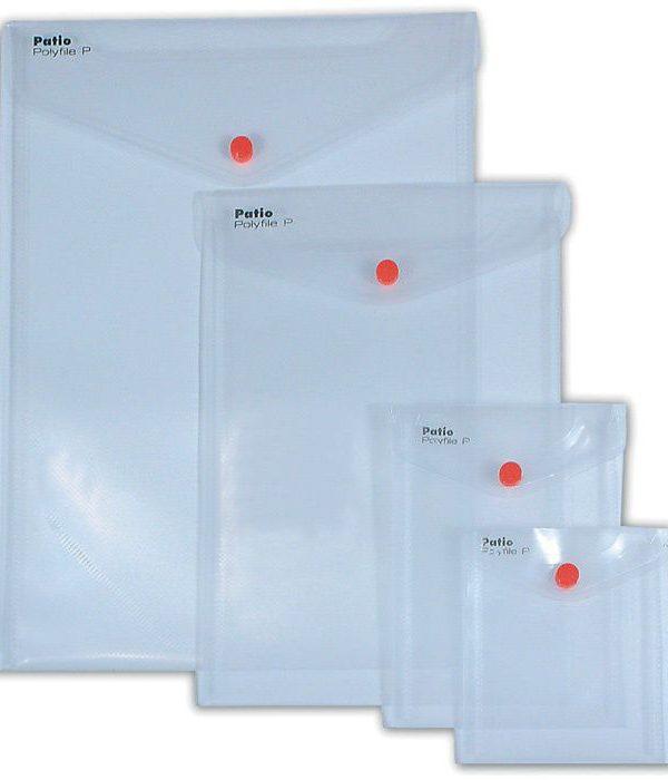 Desky druk A6 vertikální čiré ČIRÁ- NA VÝŠKU Desky z průhledného odolného polypropylenu