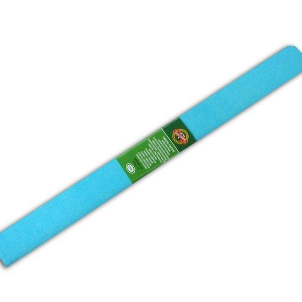 Papír krepový Koh-i-noor azurová 13/20 Krepový papír jednobarevný - nabízíme krepové papíry v různých barvách