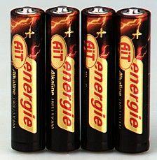 Baterie tužková AIT Silver AA/4ks Tužkové baterie - napětí 1