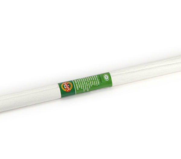 Papír krepový Koh-i-noor bílý 01/01 Krepový papír jednobarevný - nabízíme krepové papíry v různých barvách