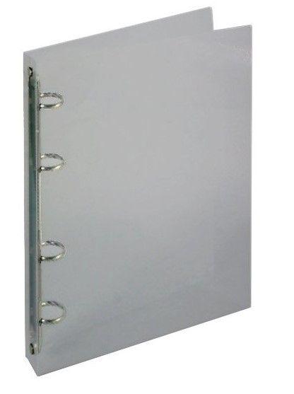 Desky 4 krou/20 OPAL kouřová Desky z transparentního polypropylenu s kroužkovou mechanikou -pro ukládání děrovaných dokumentů -šíře hřbetu 2 cm -kapacita 70 listů -balení: 25ks -800 mikronů