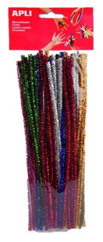Plyšový drátek 30cm/50ks třpytivý mix Barevné modelovací drátky doplněné třpytkami určené pro výtvarné práce a výrobu dekorací. Rozměr: 6 x 300 mm Balení obsahuje: 50 ks -barevné modelovací drátky se třpytkami v chlupatém provedení -ideální pro výrobu dekorací a výtvarné práce