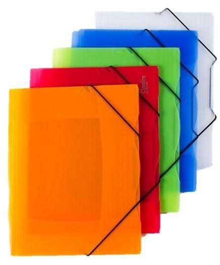 Desky spisové plast 253 s gumou kouřové Opaline KOUŘOVÉ Desky vyrobené z polypropylenu se třemi chlopněmi a s gumičkou. -ideální pro přenášení většího počtu dokumentů Rozměry: 249 x 320 x 5 mm