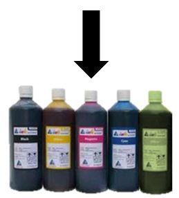 Inkoust červený  Koh-i-noor 1000gr Černý inkoust balený v 1000g plastové lahvičce určený do plnicích per a sloužící pro ruční psaní na papír. Vhodný jak pro malé školáky