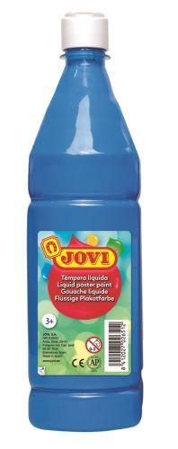 Barvy temperové JOVI 1lt světle modrá - 51121 Nové tempery značky Jovi jsou označovány jako hotové temperové barvy. Jsou odlišné od klasických školních temperových barev