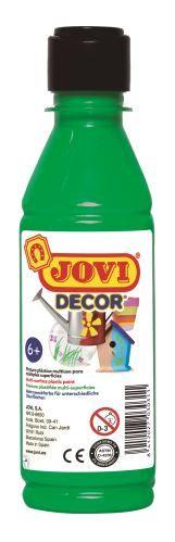 Barvy akrylové JOVI jovidecor 250ml sv. zelená - 68017 Plastická barva na bázi vody a latexu