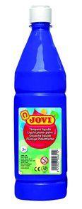 Barvy temperové JOVI 1lt tmavě modrá - 51124 Nové tempery značky Jovi jsou označovány jako hotové temperové barvy. Jsou odlišné od klasických školních temperových barev