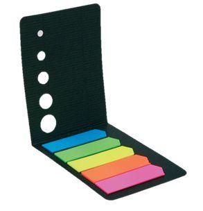 Lepicí záložky papírové šipky 5x20listů neonové Neonové samolepicí záložky ve tvaru šipky! 5 barev - růžová