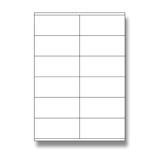 Etikety samolep. A4/105x48 Vhodné především pro tisk adres