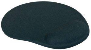 Podložka myš gelová Logo černá Gelová podložka pod myš LOGO -díky svému ergonomickému designu je podporou Vašeho zápěstí -gelovému polštářek se vytvaruje přesně dle křivek Vašeho zápěstí -s nímbude pro Vás práce s myší velice komfortní!