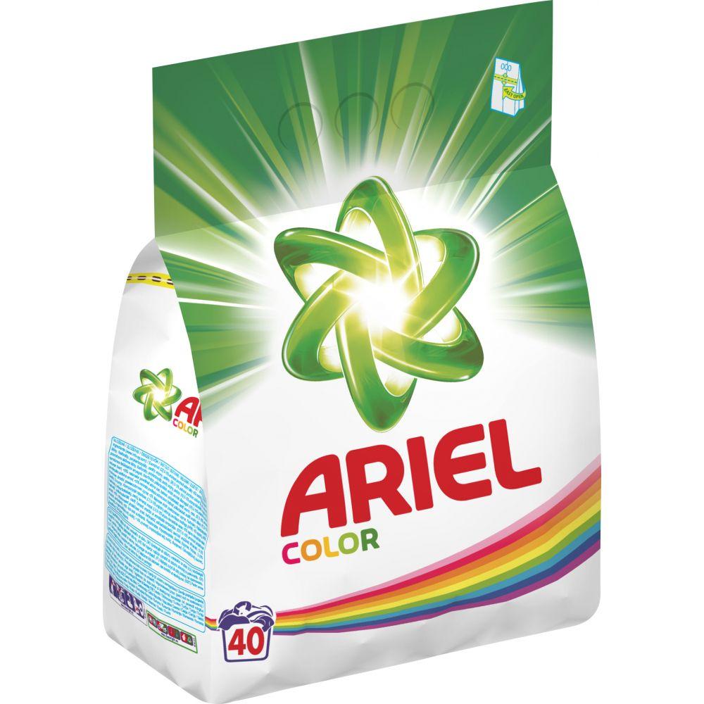 Prášek na praní Ariel na bílé 3kg/ 40 dávek Ariel prací prášek Color je vhodný na barevné prádlo