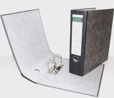 Pořadač pákový A4/5cm eko mramor rado kroužek Pořadače vyrobené z recyklovaného papíru - EKO -mramorová úprav - papírový štítek na hřbetu. Formát: A4 Hřbet: 5 cm Obrázek je informativní.