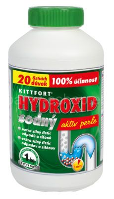 Louh - hydroxid sodný 1kg Hydroxid sodný - louh