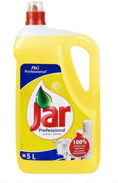 Jar Expert citron  Super 5l Jar Professional Lemon je koncentrovaný prostředek na ruční mytí nádobí. Na hrnce