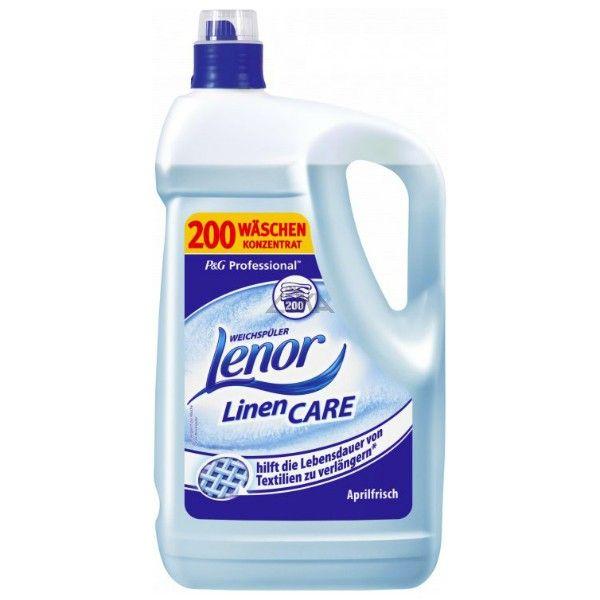 Aviváž Lenor 5l Spring modrá Lenor změkčí Vaše prádlo