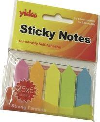Lepicí záložky papírové šipky 45x12/5 barev Samolepicí záložky 45x12