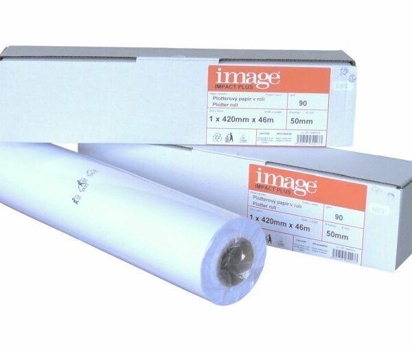 Papír plotter 297mmx46mx50mm/80gr Plotterové role Image jsou určeny pro všechny typy inkoustových a laserových tiskáren