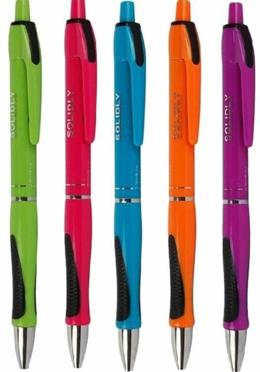 Kuličkové pero Solidly color mix 0