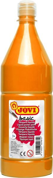Barvy temperové BASIC jovi 1l oranžová 50906 Temperové barvy Basic dobře kryjí
