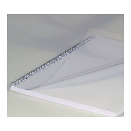 Krou. vazba přední čirá A4/100ks *čirá* Přední strana z průhledného PVC - 200 mikronů Formát: A4 Balení obsahuje: 100ks