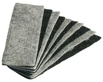 Magnetická houba bílá- náhradní filc 10ks Stěrky na bílé tabule-náhradní filc -magnetické -využijete ve školní třídě i v kanceláři -balení obsahuje:10ks